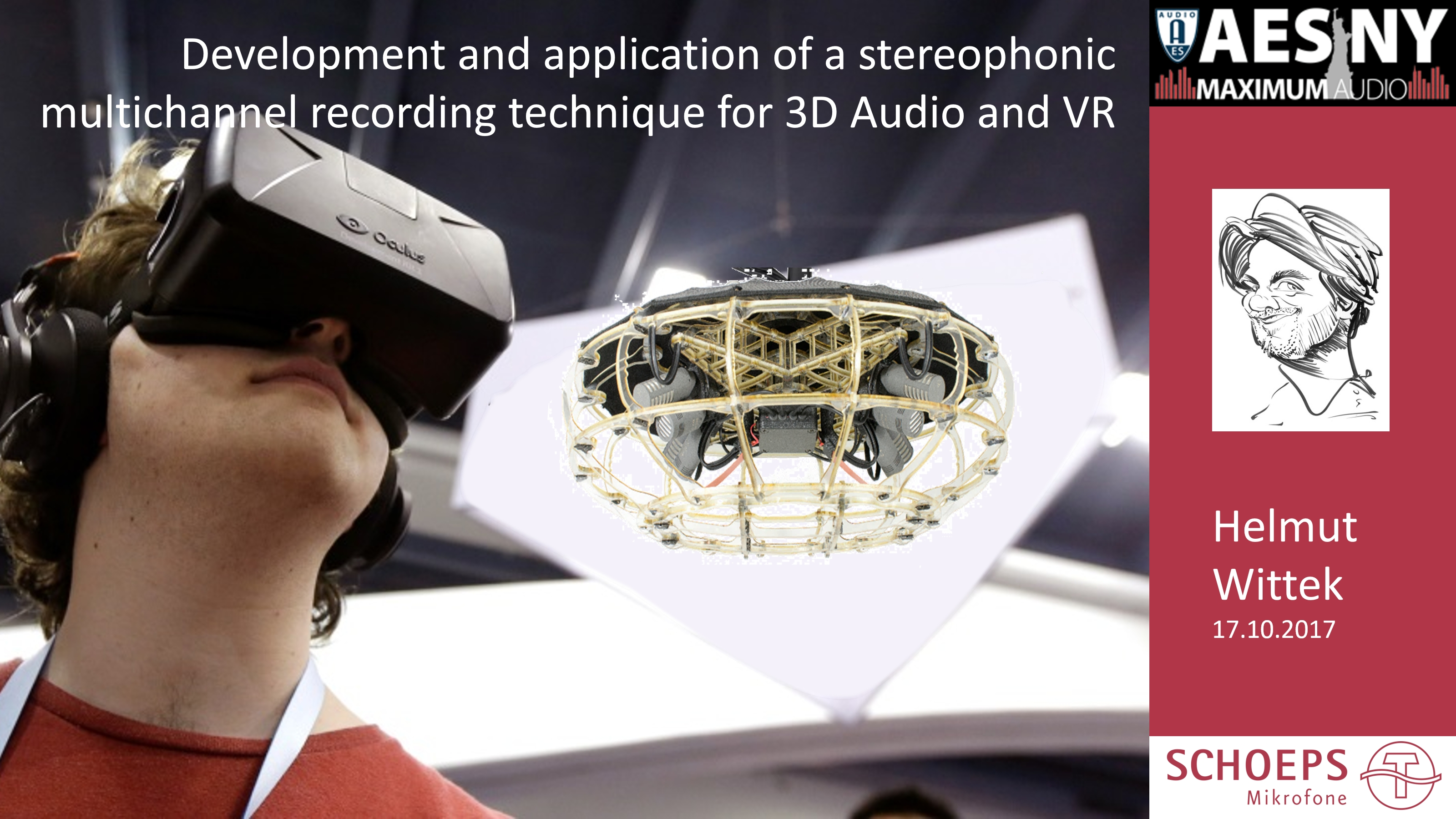3D Audio Recording: ORTF-3D
